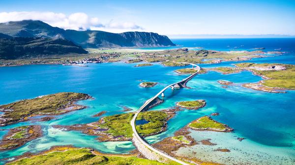 ノルウェー・大西洋道路