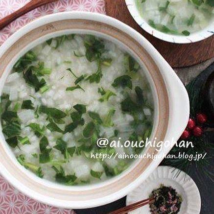 基本的な七草粥のおすすめの作り方