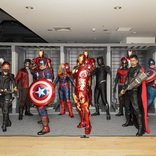 大阪で開催中の体感型イベント『マーベル・スタジオ/ヒーローたちの世界へ』ハロウィーン企画開催決定、記者向けイベントにファンが本格的な仮装で登場