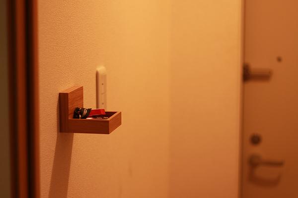 無印良品 壁に付けられる家具トレー 1,290円(税込)