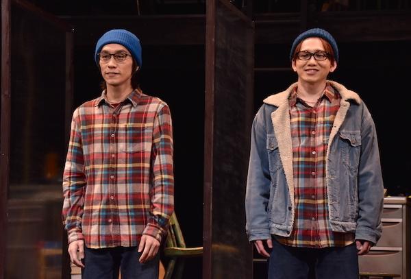 平間壮一、花村想太(左から)