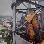 JO1豆原一成、レスキュー隊員を熱演「両手にテーピングして、鉄塔に登りました」