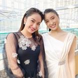 平祐奈、土屋太鳳と華やかドレス2ショットに歓喜の声!
