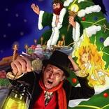 影絵カンパニー「望ノ社」が『クリスマス・キャロル』を影絵・歌・バイオリン演奏で表現する新感覚ステージとして上演