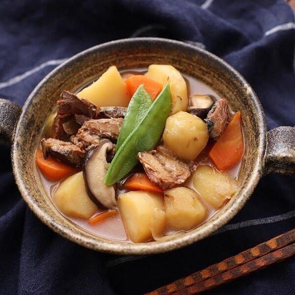 美味しい主菜レシピ!サバの味噌じゃが
