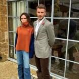 ヴィクトリア・ベッカム、夫デヴィッドのファッションセンスをからかう ファンも「なんでそのチョイス?」