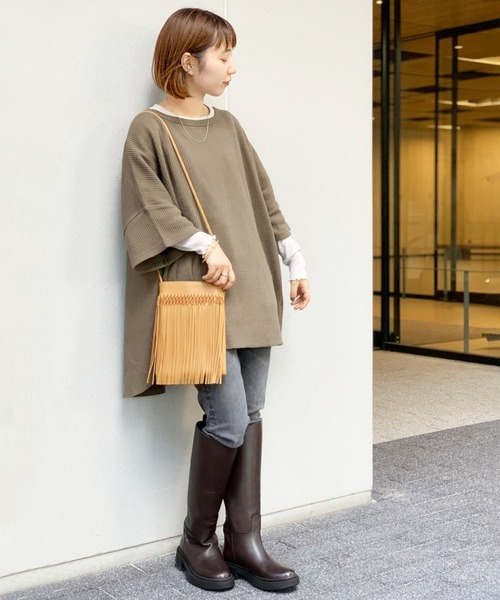[JOURNAL STANDARD] 【REMME/レメ】 LONG BOOTS:ロングブーツ◆