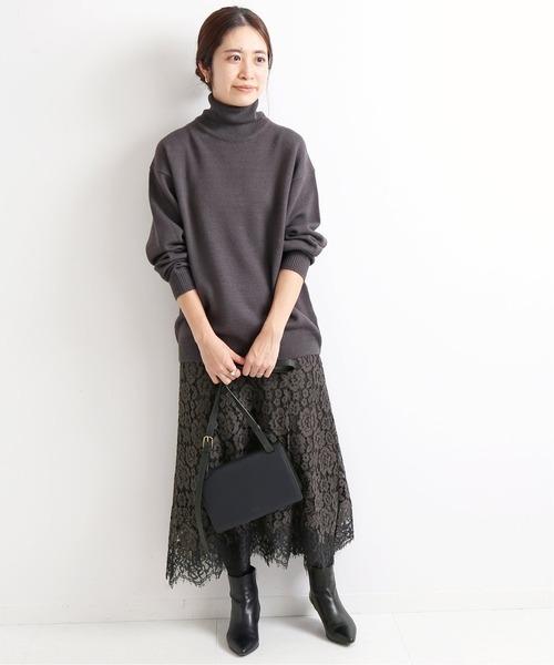 冬のかっこいい女性ファッション11