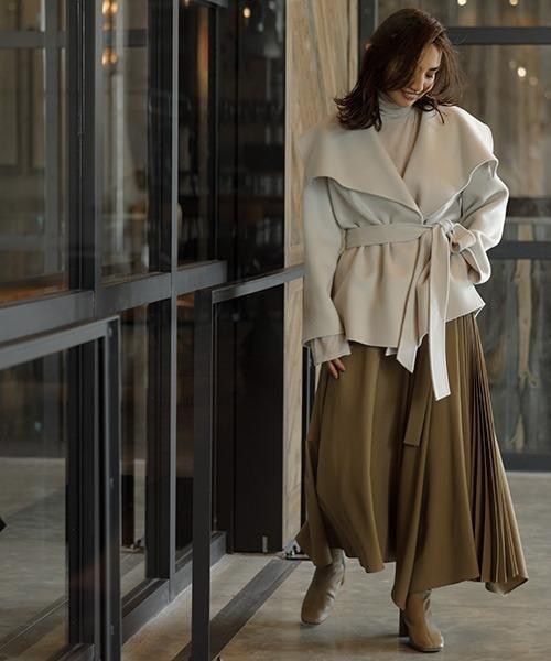 冬のかっこいい女性ファッション14