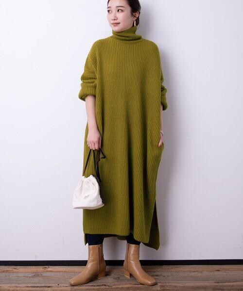 冬のかっこいい女性ファッション15