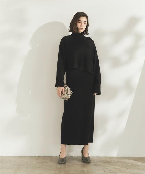 冬のかっこいい女性ファッション17