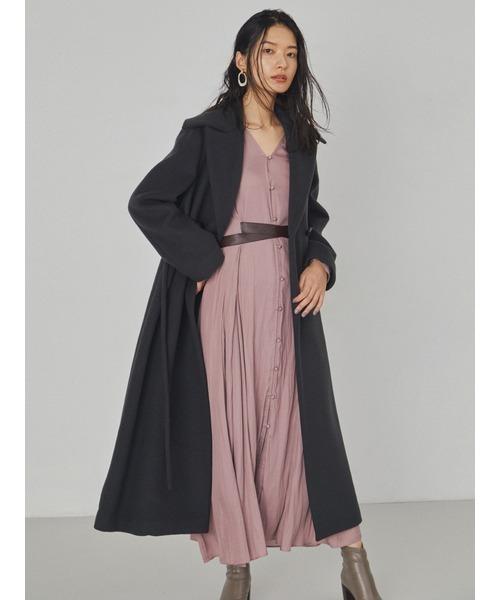 冬のかっこいい女性ファッション19