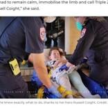猛毒のヘビに噛まれた9歳少女「するべきことは分かっているわ」 テレビ番組で学んだ冷静な対応で命助かる(豪)