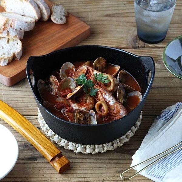 人気のレシピ!魚介の洋風鍋