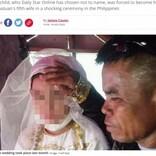 13歳女児、同じ年齢の子を持つ48歳男性と結婚 「学校には通わせる」と新郎(フィリピン)