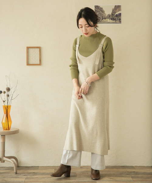 [ITEMS URBAN RESEARCH] ニットサロペット