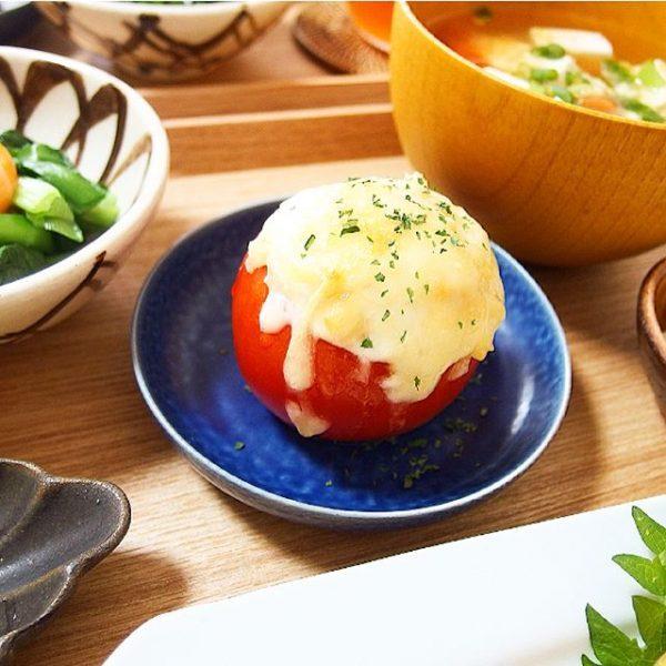 栄養満点!トマトおからのチーズ焼き