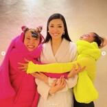 """アンミカ""""可愛い妹たち""""の誕生日を祝う 青山テルマ、フワちゃんに素敵なプレゼントも"""