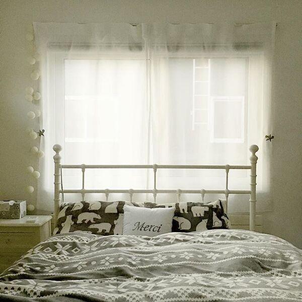寝室 カーテン 風水 北方角