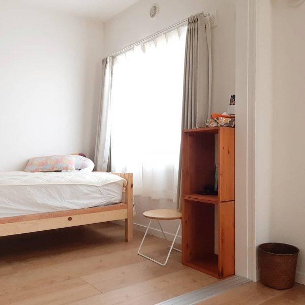 寝室 カーテン 風水 西方角2