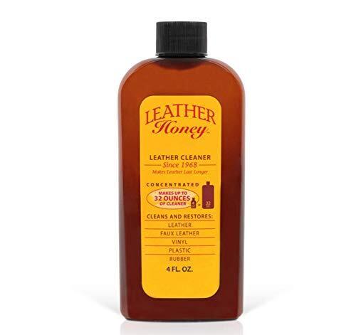 Leather Honey (レザーハニー) レザークリーナー 革 汚れ落とし 革靴 レザーブーツ 家具 自動車インテリア ソファー レザーバック 120ml