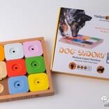 ピースを動かしておやつ探し!『Dog' SUDOKU スライドパズル カラフル エキスパート』でペットと楽しくコミュニケーション!