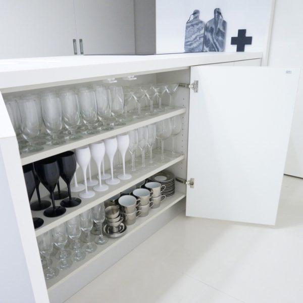 参考にしたい対面キッチンの収納方法