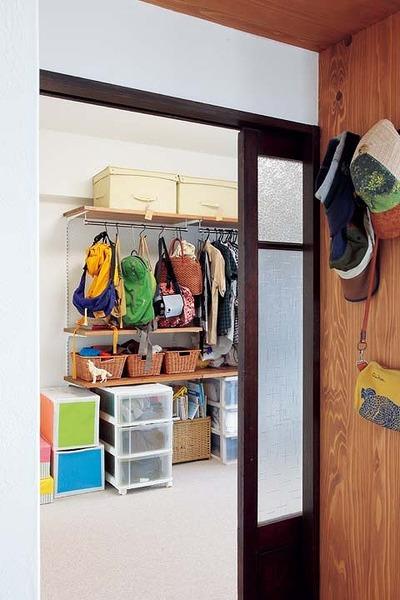 将来は2部屋に分けられる子ども室