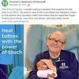 """赤ちゃんを癒し続けて14年、""""ICUグランパ""""86歳で逝去「人生は豊かで充実していた」(米)"""