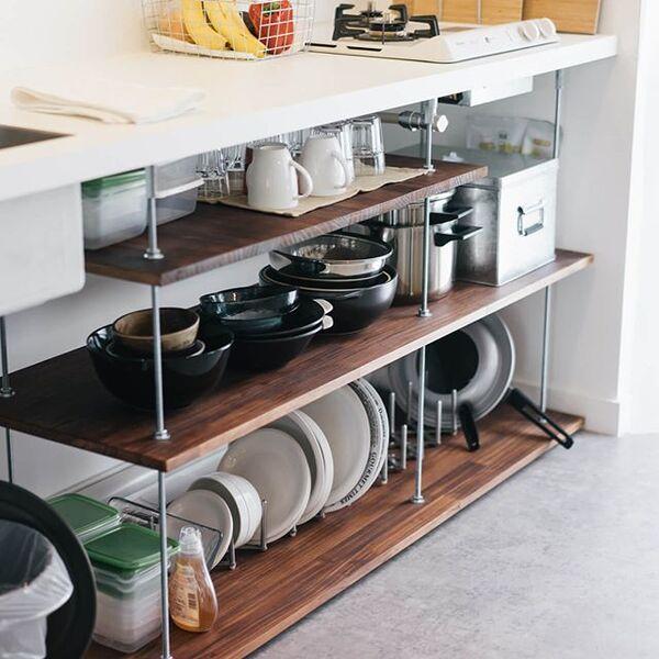 素敵キッチンのインテリア実例6
