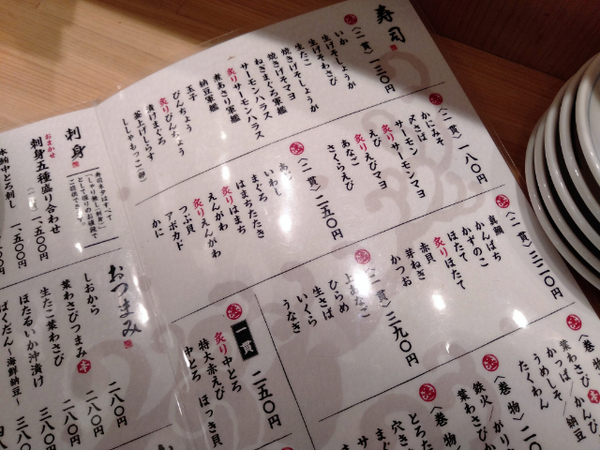 吉祥寺立ち寿司横丁3