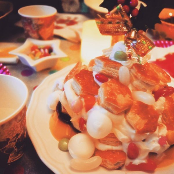 パイ菓子のアレンジレシピ!パイの実タワー