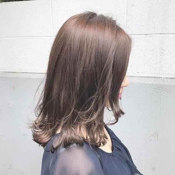 茶髪が似合わない女性向けカラー12