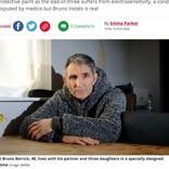 電磁波過敏症の男性、暖房が使えず冬の間は家族と離れて暮らすことに(英)