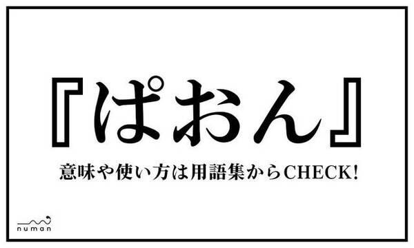ぱおん(ぱおん)とは?(意味)~用語集|numan
