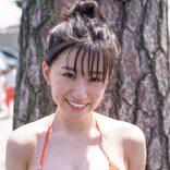 上西怜、ボリューミーなバストを大胆披露 NMB48メンバーもグラビアで魅せた