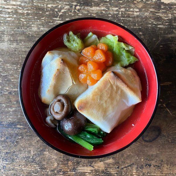 和風スープの代表♪雑煮汁