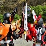 『仮面ライダーセイバー』映画の場面写真公開、剣に本物の炎を纏わせた撮影カットも