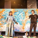 <ライブレポート>『大宮エリーの即興美術館』YO-KINGの音楽のバイブスが絵に