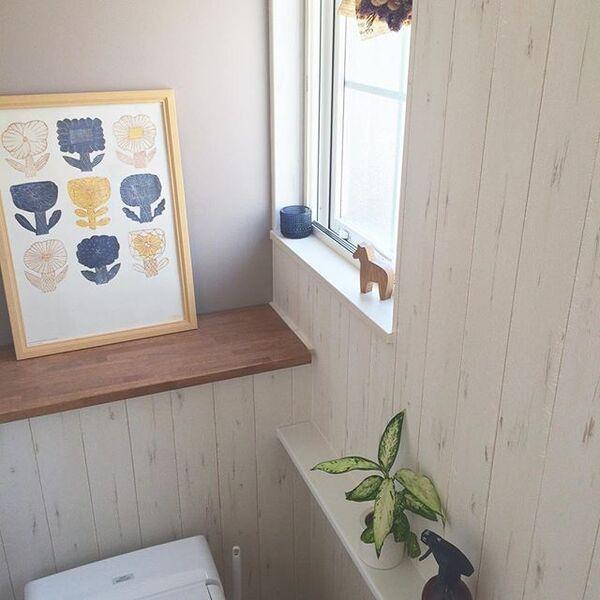 トイレのおしゃれなレイアウト14