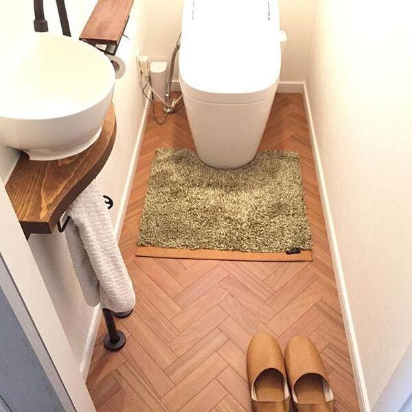 トイレのおしゃれなレイアウト17