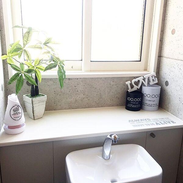 トイレのおしゃれなレイアウト6