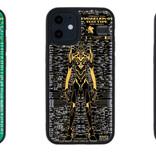 胸のLEDが光る! 基板にエヴァ初号機を描いたiPhone 12シリーズ用ケース