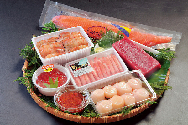 丸み佐藤商店「高級・手巻寿司セット[5~6人前]」(北海道)