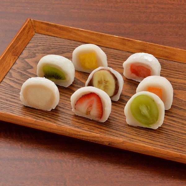 茶菓えん寿「フルーツ大福6個入り」(京都府)