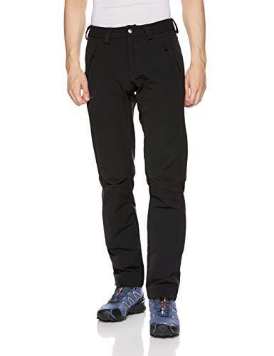 [サロモン] ハイキングパンツ WAYFARER WARM STRAIGHT PANT M (ウェイファーラー ウォーム ストレート パンツ) メンズ Black 50/S