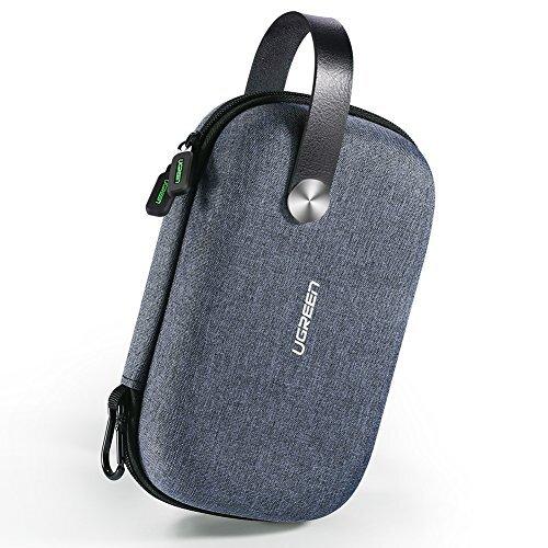 UGREEN ガジェットポーチ コンパクト 小物用収納ポーチ PC周辺小物用 モバイル収納ケース 小物入れアクセサリー 小物 整理 収納 充電器 ケーブル USB ハブ モバイルバッテリーなどに最適 防水 出張 旅行用