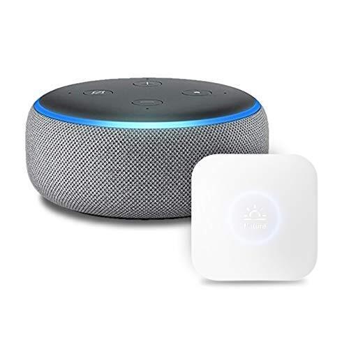 Echo Dot 第3世代 - スマートスピーカー with Alexa、ヘザーグレー + Nature スマートリモコン Remo mini