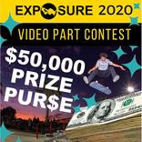 Virtual Exposure2020各部門で藤澤虹々可・上村葵・藤井雪凛が優勝!毎年女子の為のスケートボード大会を開催する意味とは?