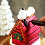 スヌーピーのクリスマス版「ヘクセンハウス<お菓子のおうち>」を作ろう!